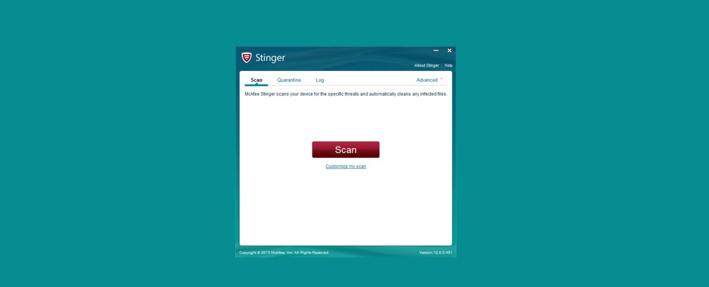 McAfee Stinger 11 portable