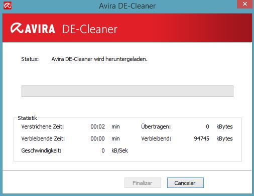 Avira DE cleaner