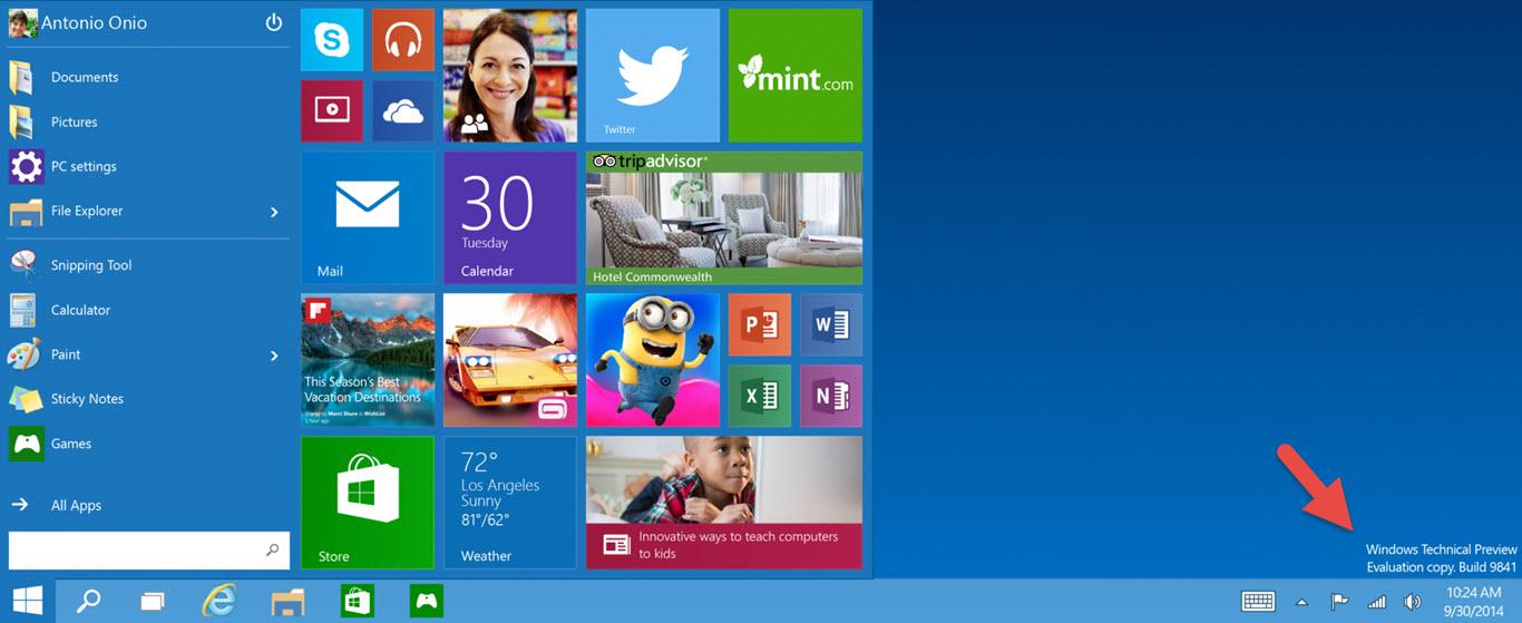 Cómo ver la compilación de Windows