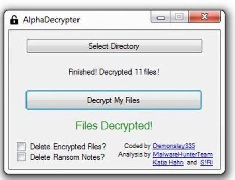 Es posible recuperar archivos con extensión .ENCRYPT