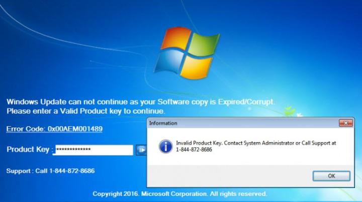Falso soporte técnico bloquea tu PC 2