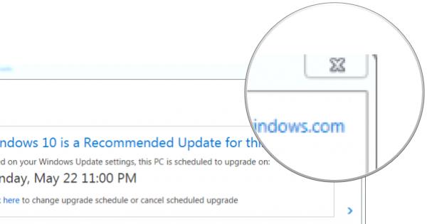 Microsoft fuerza la actualización a Windows 10