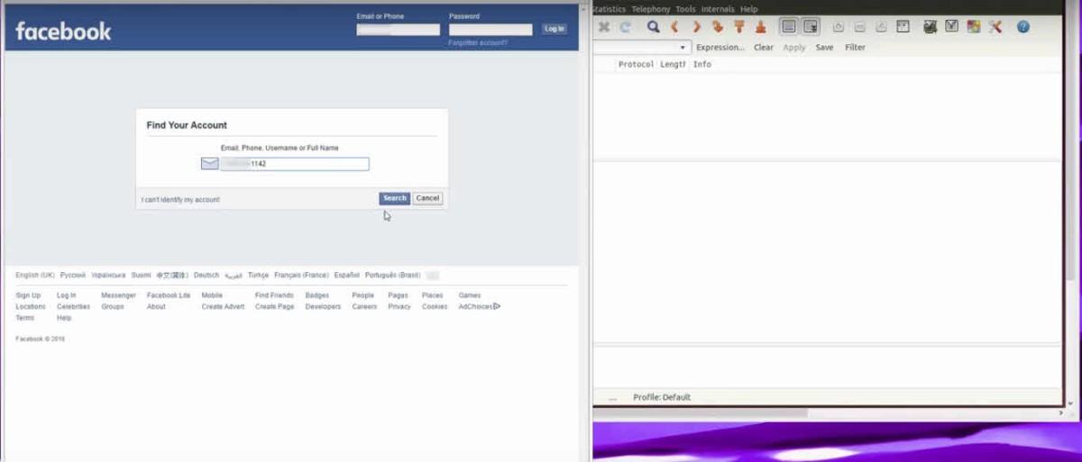 Como hackear cuentas de Facebook con sólo el número de teléfono