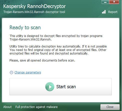 cryptxxx-RannohDecryptor