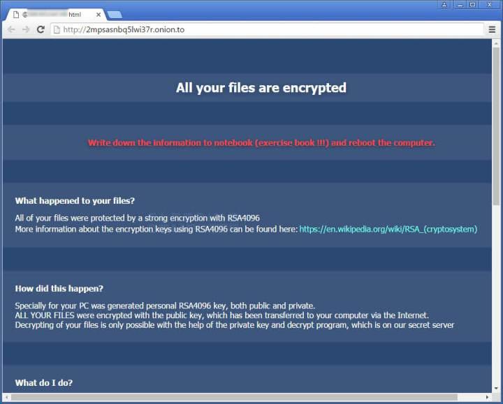 Como eliminar el ransomware CryptXXX o UltraCrypter