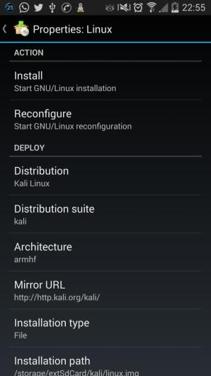 Kali Linux en Android