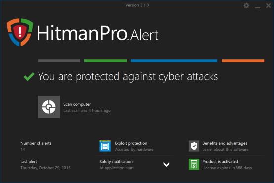 Hitman Pro Alert
