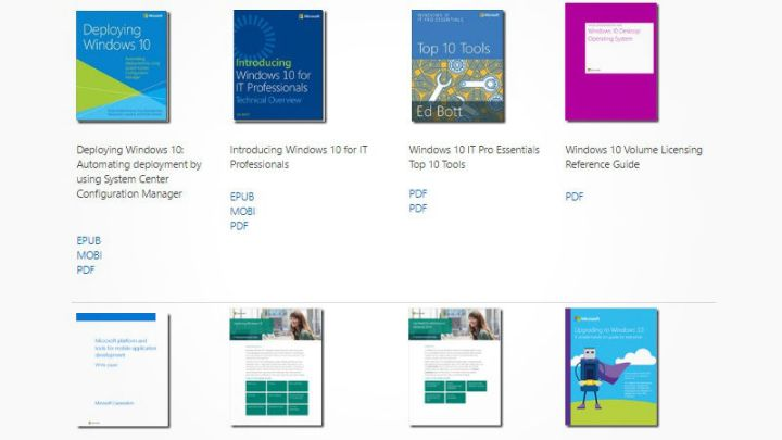 Ebooks gratuitos de Microsoft