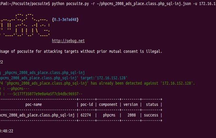 POC Suite, entorno para testing de vulnerabilidades