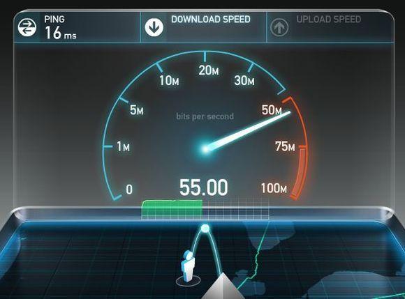 Test de conexión a internet
