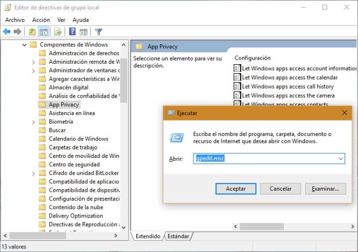 Windows 10 Políticas de Grupo