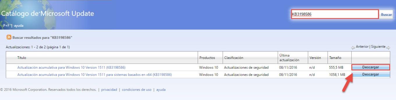 catalogo-de-microsoft-update