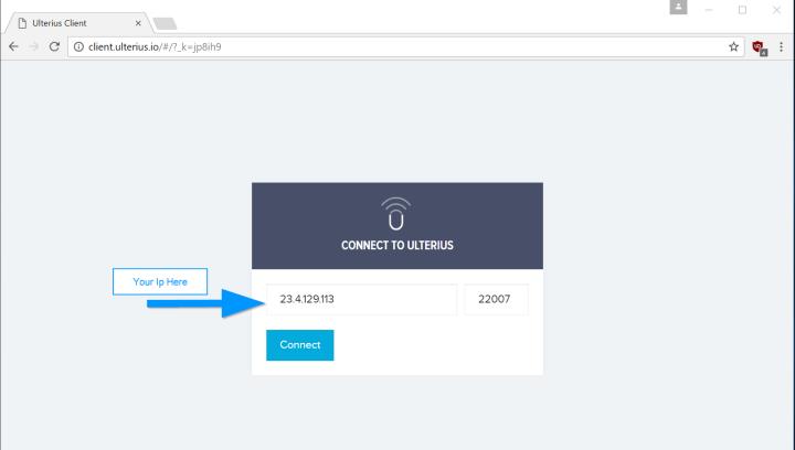 Ulterius acceso remoto al pc desde cualquier navegador proteger mi pc - Puerto de conexion remota ...