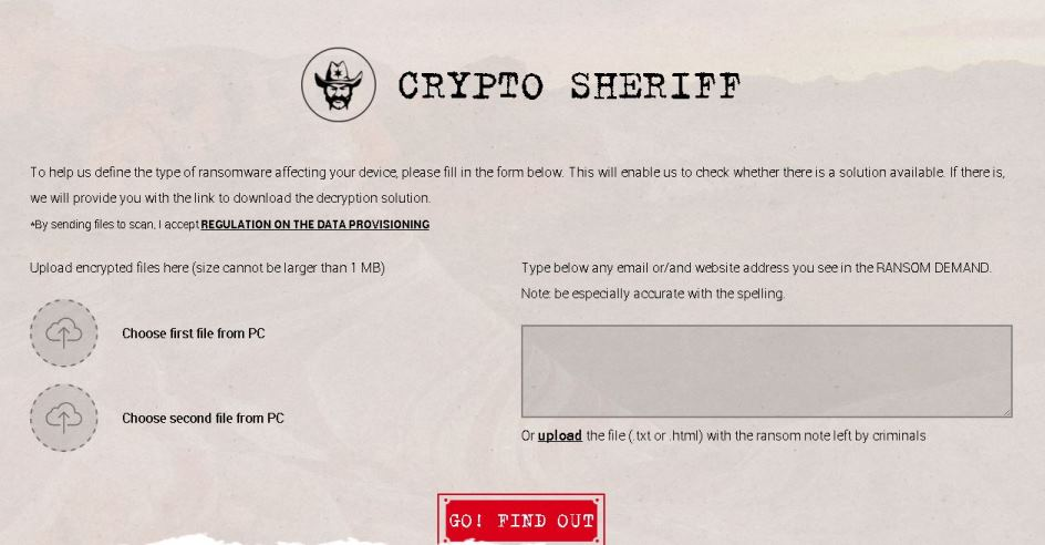 Crypto Sheriff