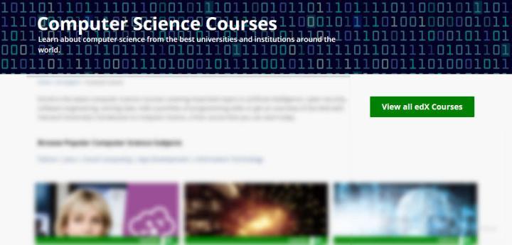 Cursos de informática gratuitos de EdX