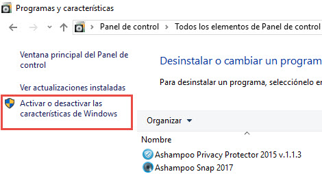 Desactivar SMB en Windows