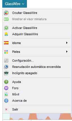 Opciones del firewall
