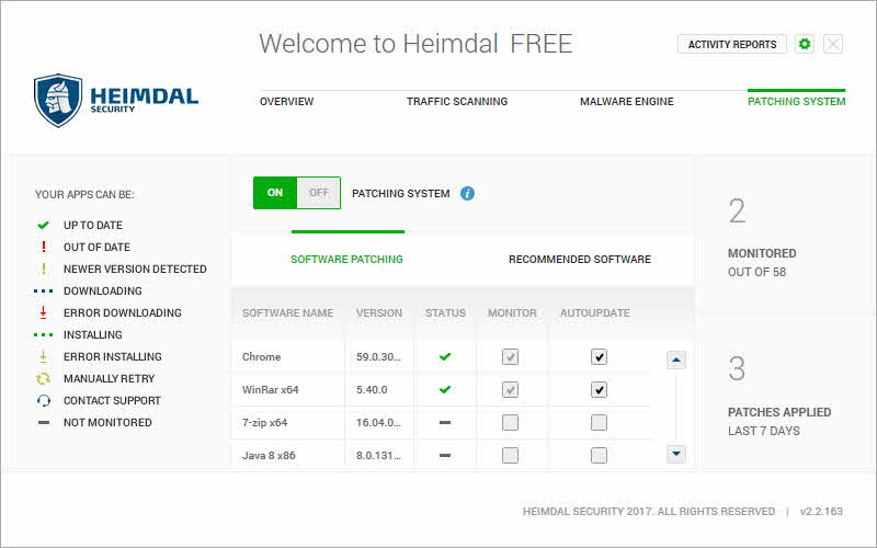 Heimdal Free 3