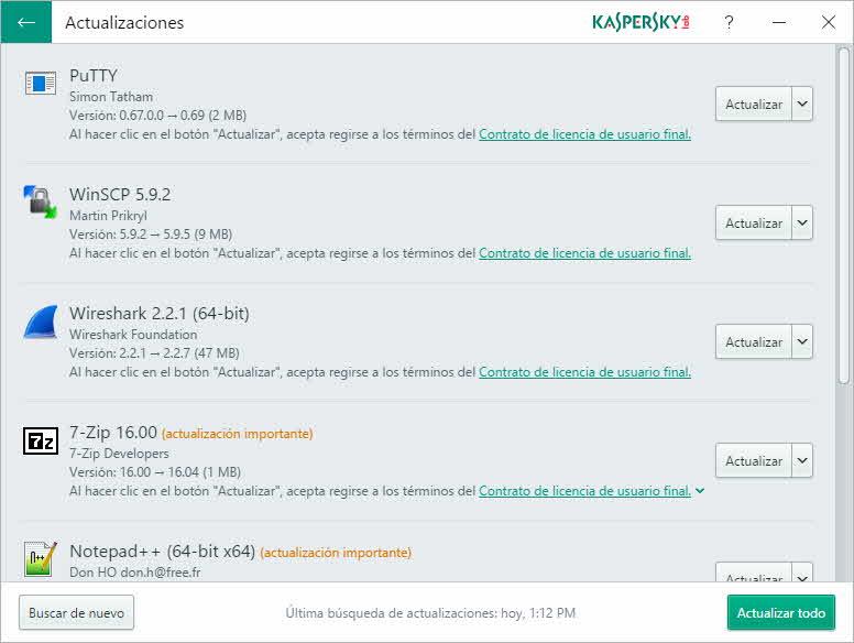 Kaspersky Software Updater 2