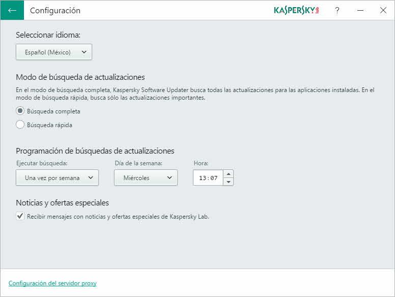 Kaspersky Software Updater 4