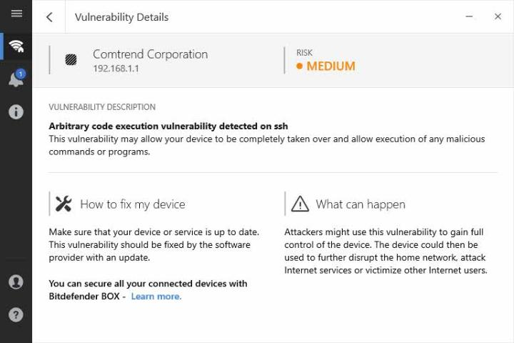 Bitdefender Home Scanner vulnerabilidades detectadas