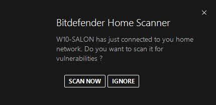 Nuevo dispositivo detectado en la red