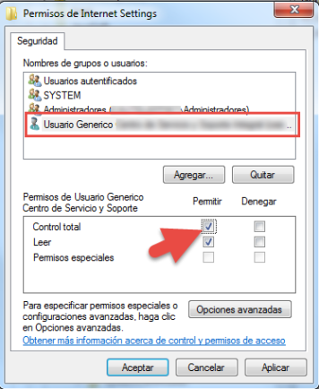 Solucionar problemas de proxy en Windows