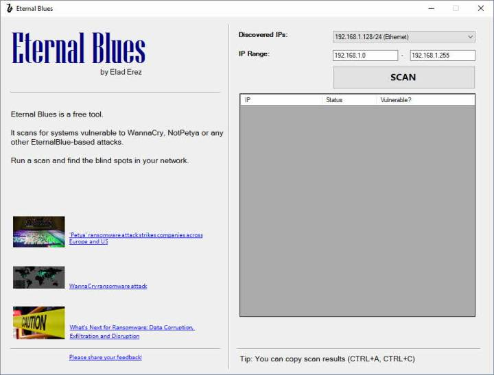 Testear la vulnerabilidad a EternalBlue