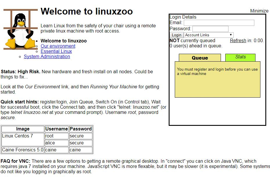 Linuxzoo