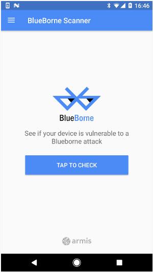 Blueborne detector