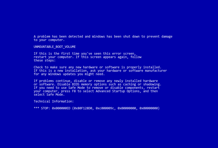 ¡BSOD! Aprende a interpretar los pantallazos azules de Windows