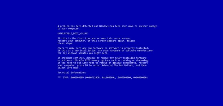 ¡BSOD! Aprende a interpretar los pantallazos azules de Windows