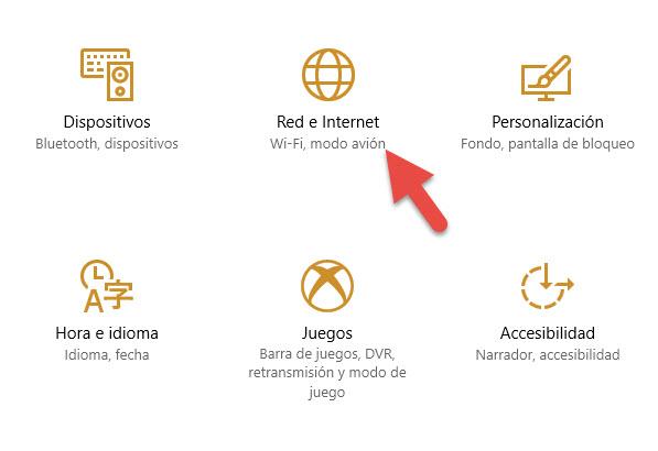 Conexiones de uso medido Windows 10