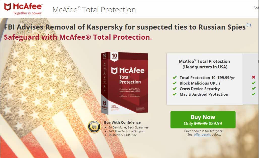Promoción MacAfee