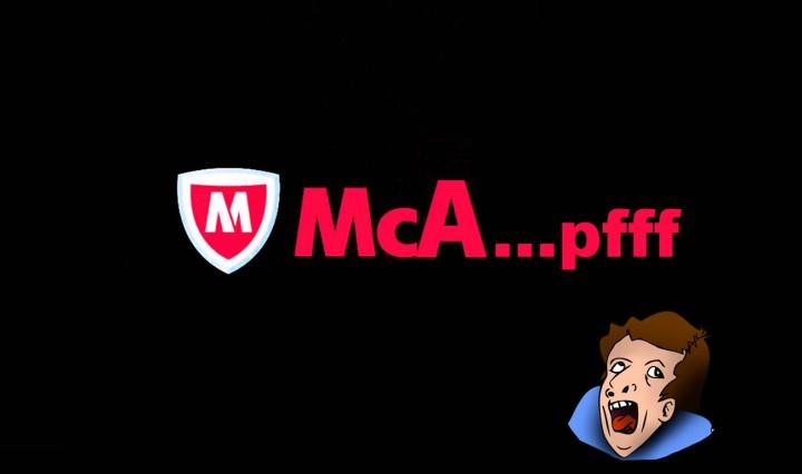Sucia jugada de McAfee aprovecha el caza a Kaspersky para vender más