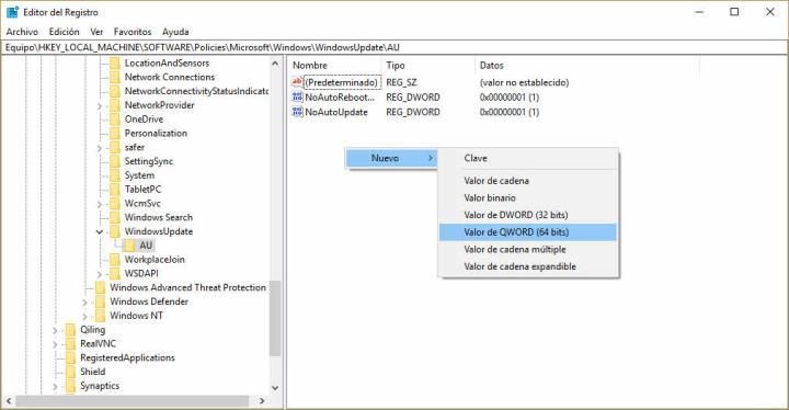 Deshabilitar actualizaciones automáticas en Windows 10