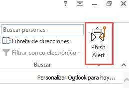 Alerta de phishing Knowbe4