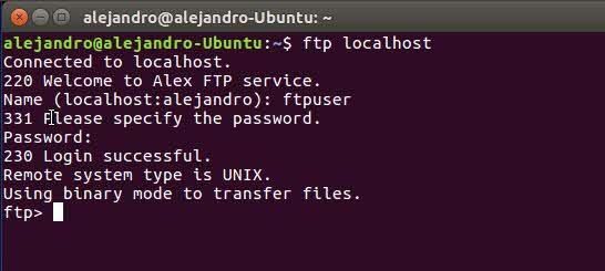 Conectar a ftp en Ubuntu