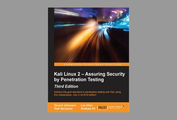 Descarga este libro sobre Kali Linux sin coste