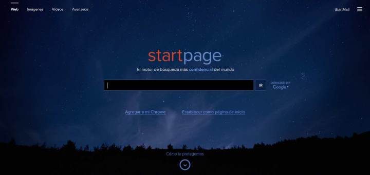 Startpage 2