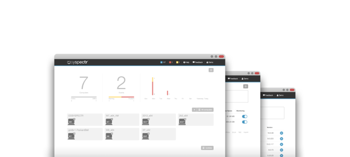 Syspectr monitoriza y gestiona tus equipos de forma remota