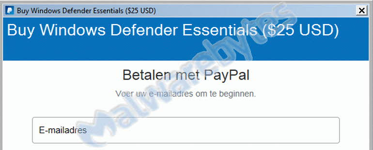 Windows Defender Essentials, la última arma del scammer