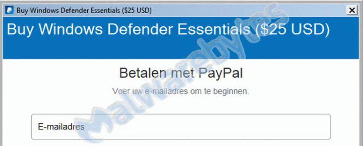 Windows Defender Essentials, la última arma del scammer