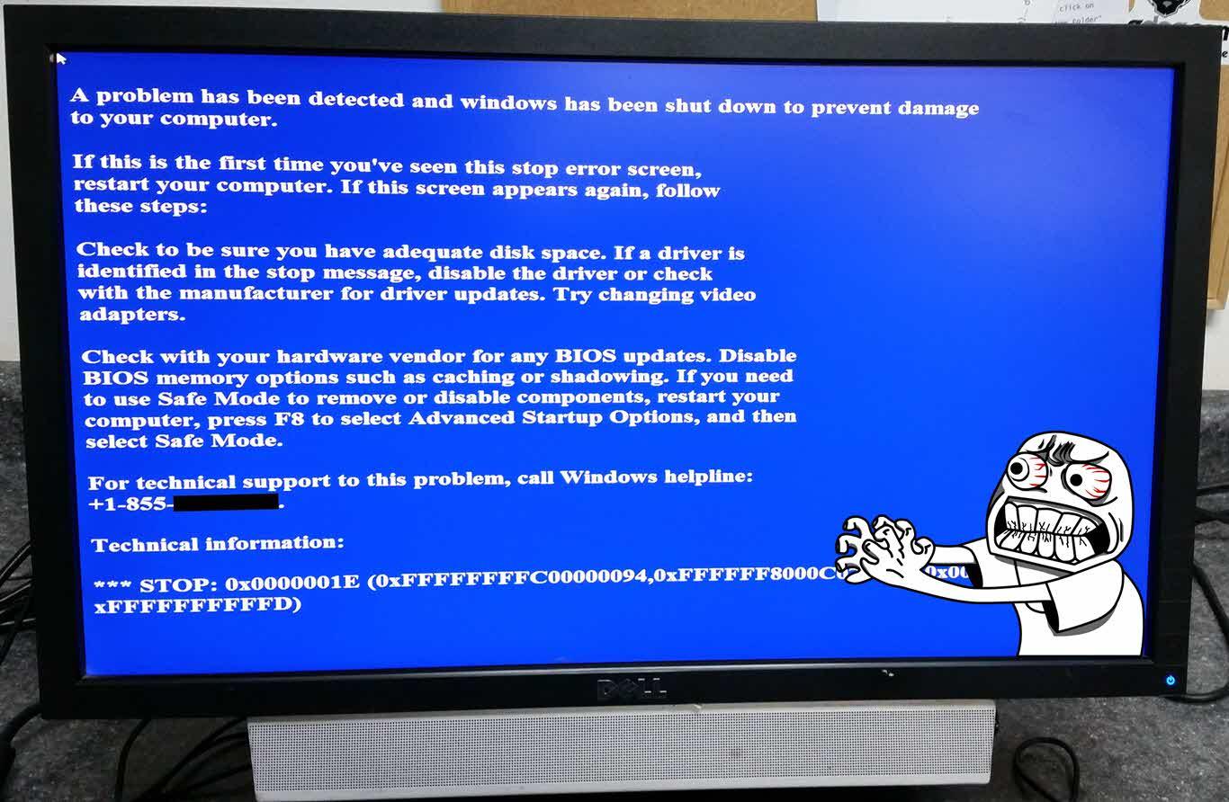 Windows malware bsod