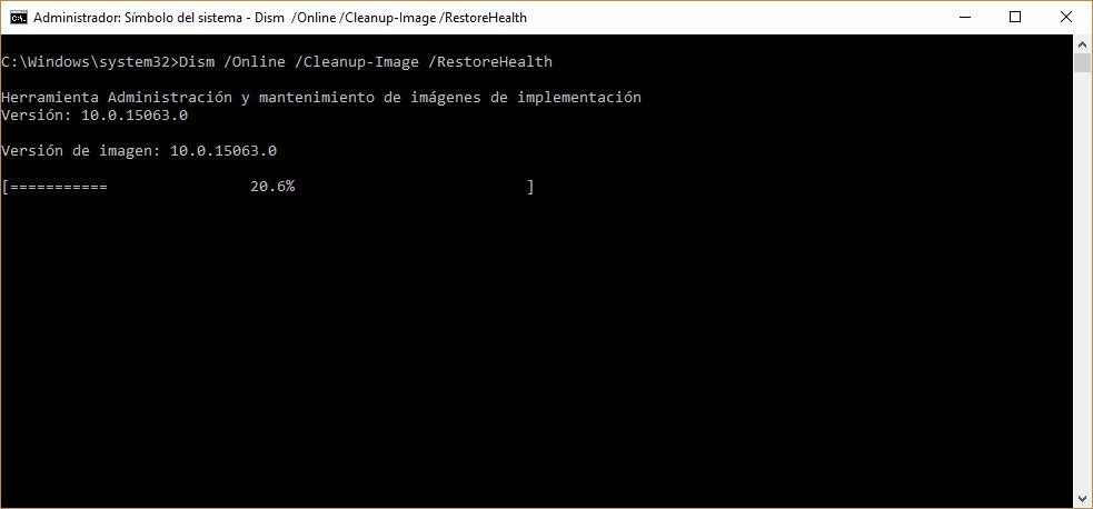Windows dism_restorehealth