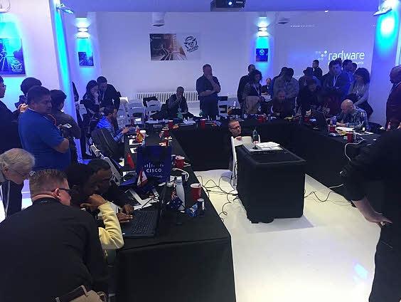 Último evento hackers challenge de Radware celebrado en EEUU