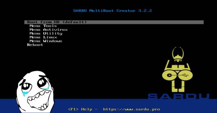 Como crear un USB multiboot con SARDU (EFI o BIOS)