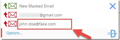 Correo electrónico falso