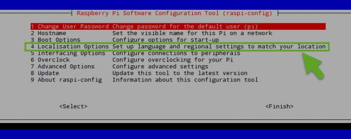 raspi-config sirve para configurar la raspberry pi