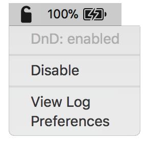 Do not disturb configuración iOS